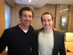 Patrick Dempsey and Jared Heyman