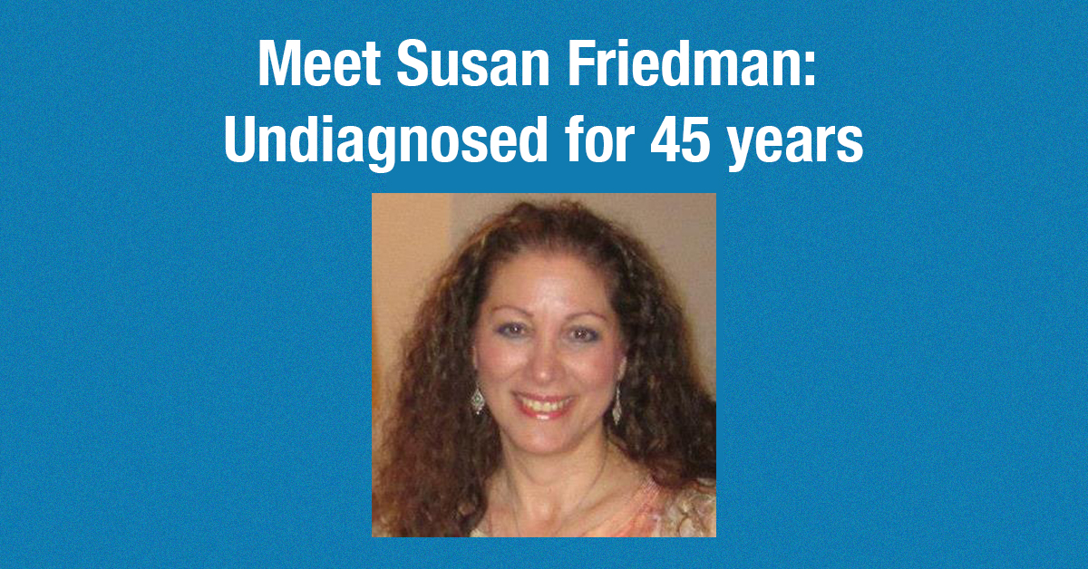 Susan Friedman Has Been Sick For 45 Years. Let's Help Her.